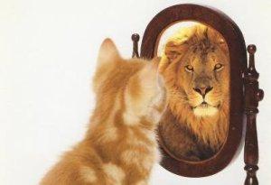 Courage = Confiance en soi et Confiance en soi = Courage