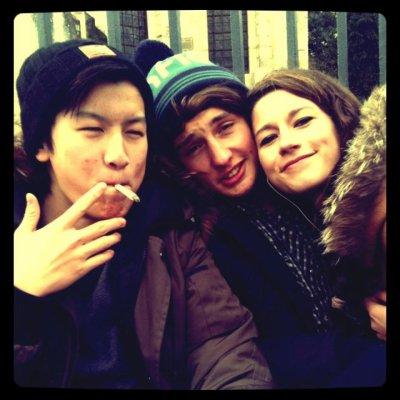 Mon pote Tony, moi et Mélina