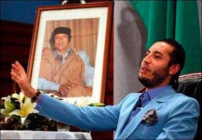 Libye Un fils Kadhafi amateur de porno gay