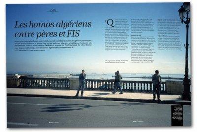 Exclusif dans le nouveau TÊTU: Etre gay en Algérie