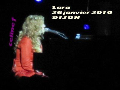 Lara 26 janvier 2010 à DIJON