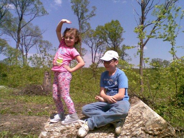 mon voyage pour les enfants dans les bois (aout - 2012)
