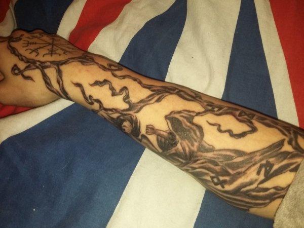 Deux eme partie tattoo