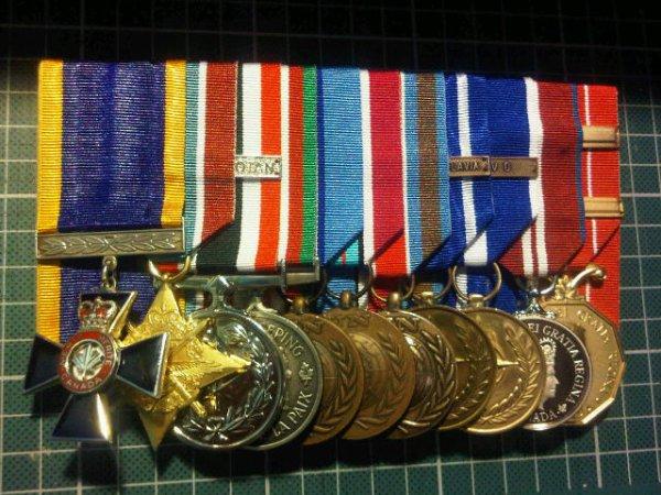 MMM, GCS-AF, SSM, CPSM, UNFICYP, UNDOF, UNPROFOR, NATO-FY, NATO-K, D Jub, CD2