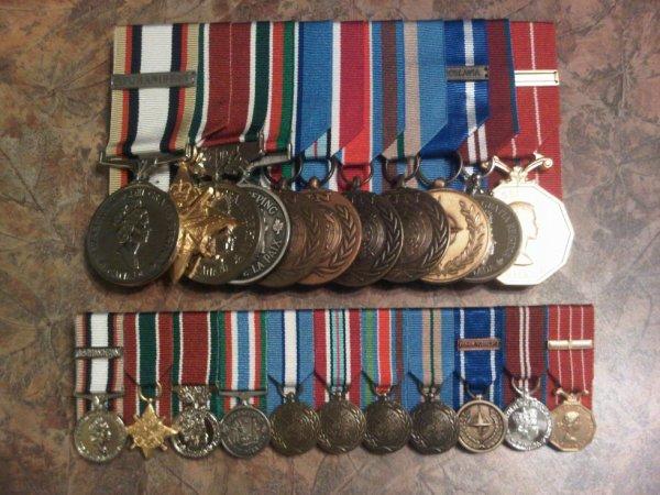 SWASM, GCS-SWA, GCM-SWA, CPSM, UNFICYP, UNDOF, UNPROFOR, UNMEE, NATO-FY, QDJM, CD1