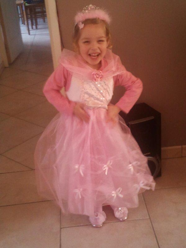 Mon bebe en princesse