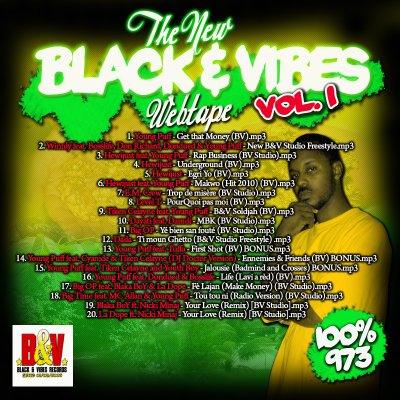 THE NEW BLACK & VIBES WEBTAPE VOLUME 1 - 2010