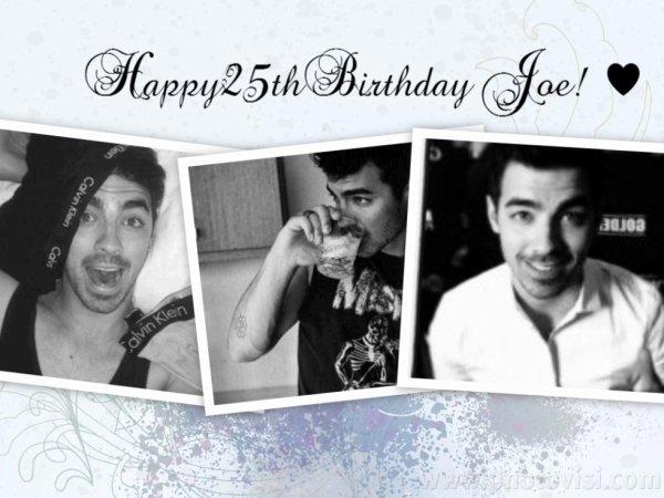 Je souhaite un Joyeux Anniversaire a mon Joseph! 25 ans! ♥