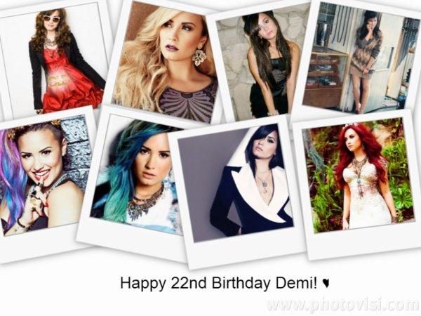 Joyeux Anniversaire a ma Demi! ♥ 22 ans! ♥