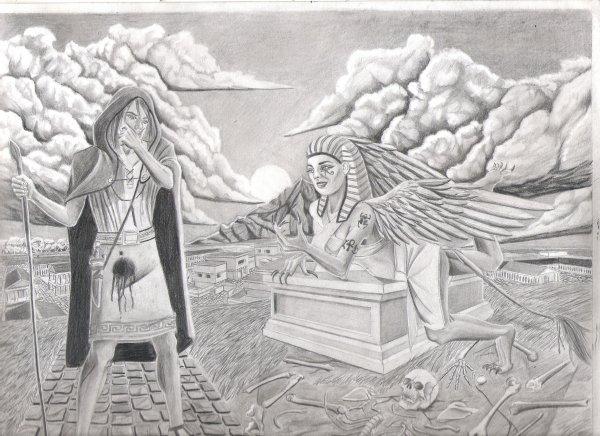 Oedipe et le Sphinx 9.6.10