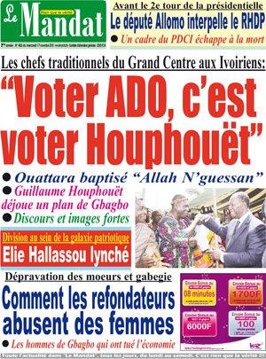 LA RESURECTION D'HOUPHOUET
