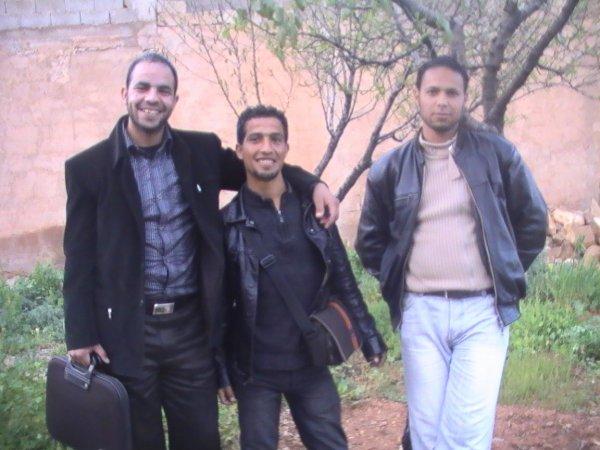 avec mes amis d'université