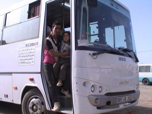 au bus de mon ami hamouda