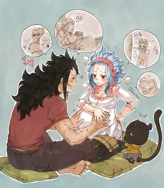 j'adore ce couple mais je sais que hero mashima va faire un truc que tout le monde va détesté
