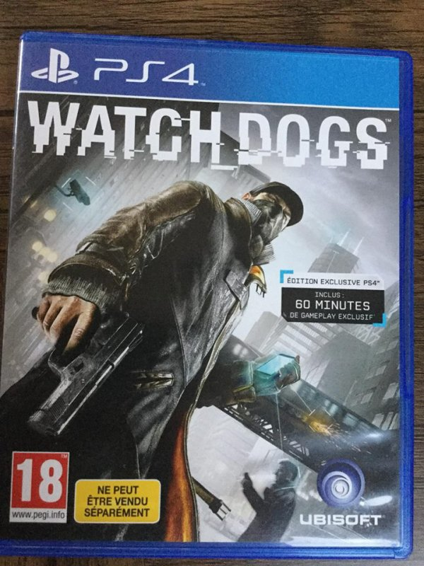 jeux ps4 Watch Dogs