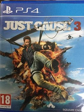 Jeux ps4 JustCause3