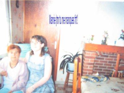 Ma grand mère et moi (7 juin 2009)