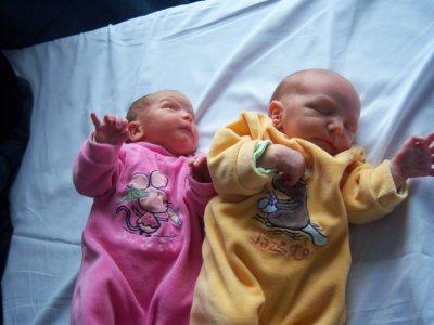 Voici Cassandra et Jordane.
