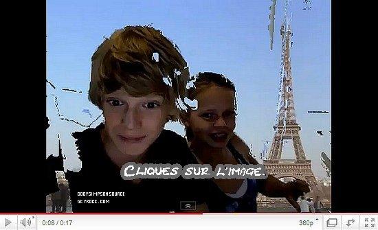 Vidéo plutôt drôle de Cody et sa soeur Alli.