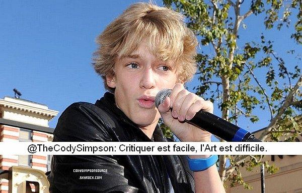 Cody & Greyson parle du Waiting 4U tour & Image de Cody & Greyson + Photoshoot de Cody et son meilleur ami & Tweet de Cody!