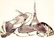 J'ai oublié mon amour à Paris.