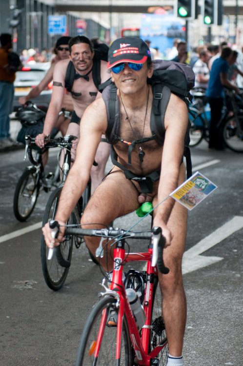 World Naked Bike Ride.