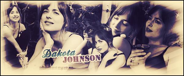 """"""" ● Bienvenue sur JohnsonDakot, ta source d'actualité consacrée à la jolie Dakota Johnson ! Suis l'actualité de l'actrice grâce à ce blog source contenant de multiples articles et sa panoplie de news candids, photoshoots, events. """""""