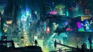 Jade Bright - Univers Cyberpunk ou futuriste