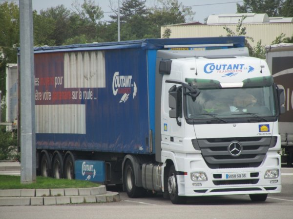 Mercedes actros tps Coutant