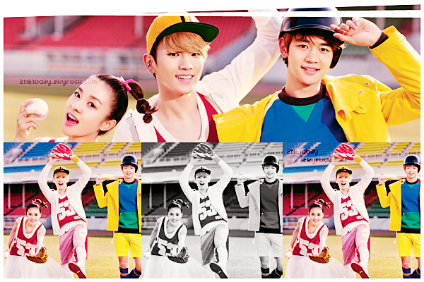 """. 13.04 De nouvelles photos de Dara, Key et Minho pour  """"Etude House"""" !."""
