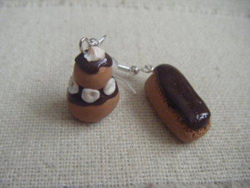 religieuse et son éclair au chocolat