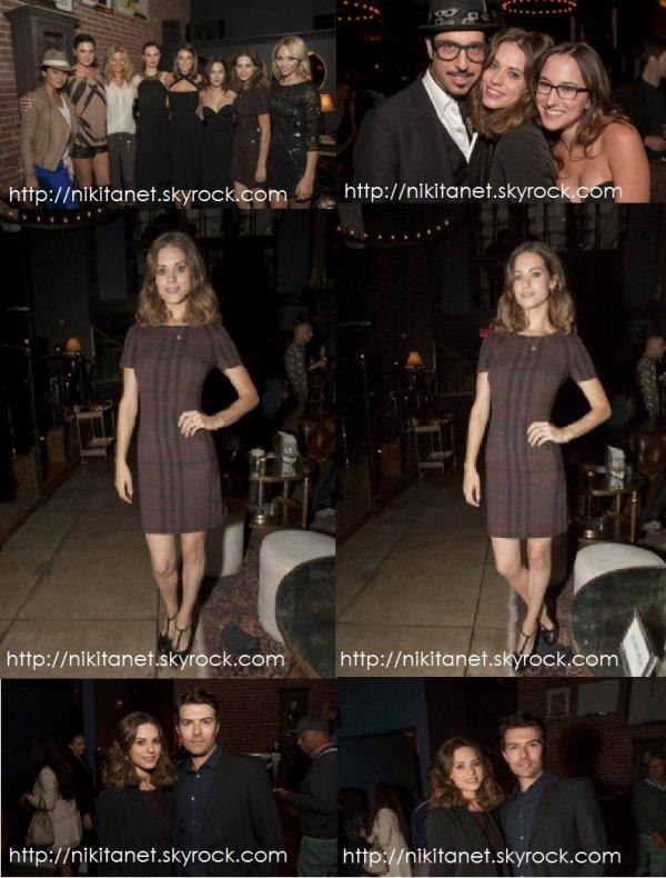 """17.10.13 : Lyndsy et Noah, son petit ami étaient présents à l'évènement caritatif """"Songs Of Hope"""". Vous aimez?"""