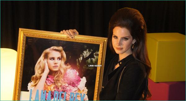 """Lana en Belgique qui reçoit un award pour son album et ensuite Lana au """"Rock Werchter Festival"""" !"""