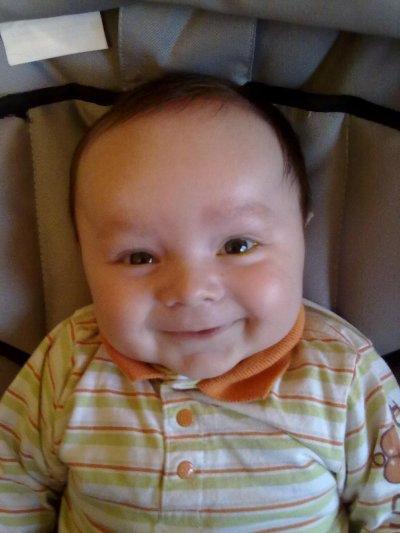 mon bébé à 3 mois