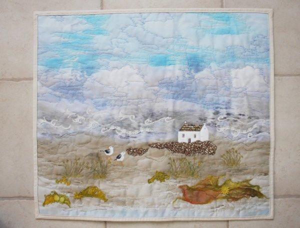création en art textile