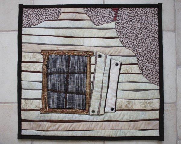 fenetre en art textile