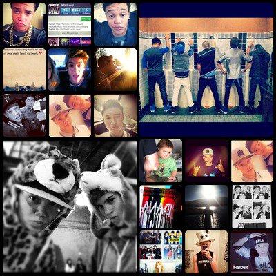 Séries de Photo Instagram