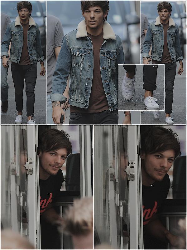 _ 29.08.2013 l__Louis a été aperçu se promenant dans les rues de Londres. _
