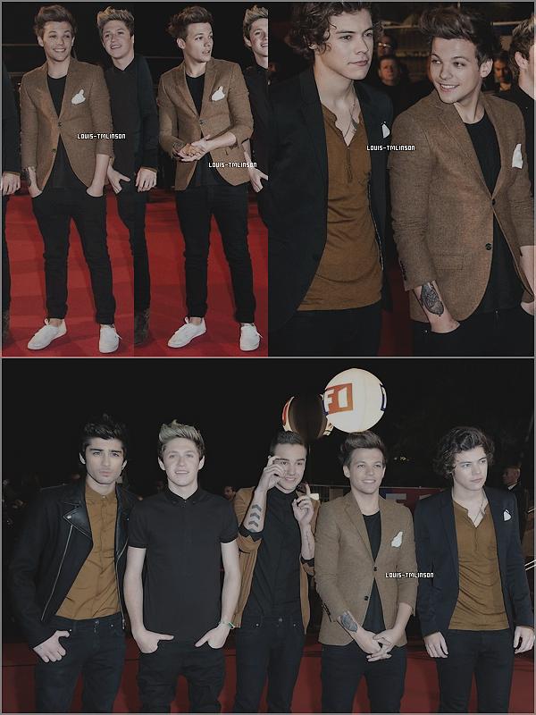 _ flashback__26.01.2013 l__Louis et les boys étaient présent aux NRJ Music Awards. _