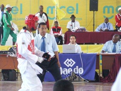 C'était aux jeux africains MOZAMBIQUE  (Maputo)