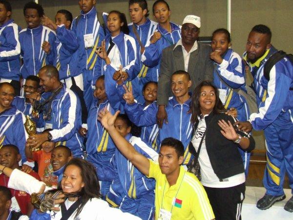 Championnats d'Afrique MADAGASCAR 2012
