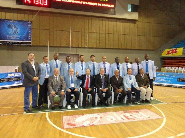 tous les Arbitres aux championnats d'Afrique MADAGASCAR 2012