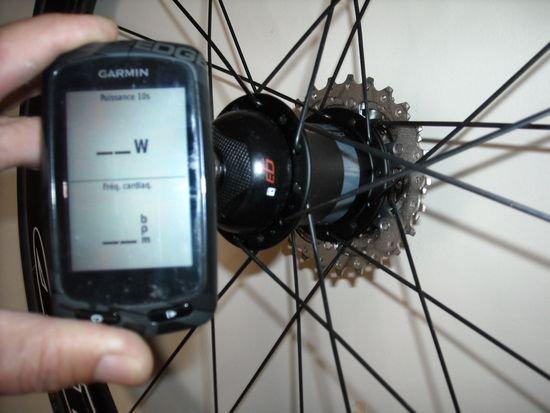 TEST CAPTEUR PUISSANCE GARMIN G3