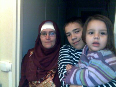 voila fatima avec ma mere et christopher