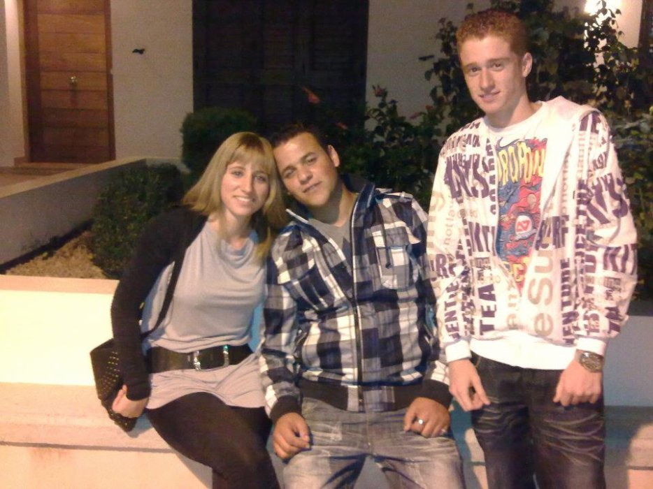 CristiNa & AchrafBeL And ELoY :)