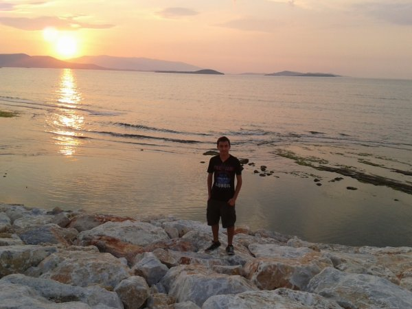 With Sunset..