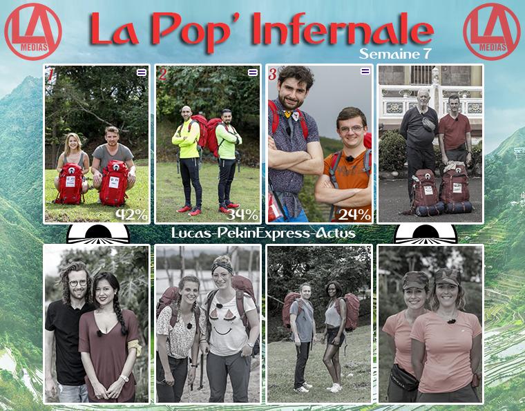 #Résultats : La Pop' Infernale : Binome Préféré - Semaine 7