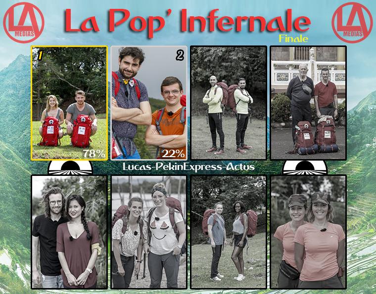 #Résultats : La Pop' Infernale : Binome Préféré - FINALE