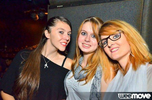 Les trois drôle de dames!! Mes plus belles soirées!