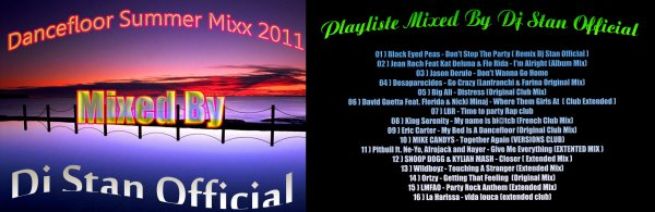 Dancefloor Summer Mixxx - Dj Stan Official / Dancefloor Summer Mixxx - Dj Stan Official (2011)